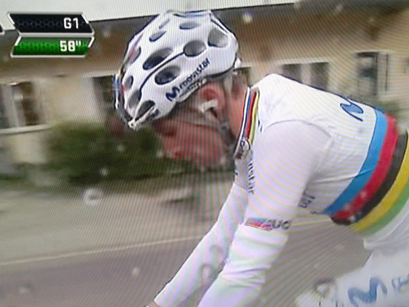 Der neue Weltmeister Rui Costa ist früh abgeschlagen bei der Lombardei-Rundfahrt