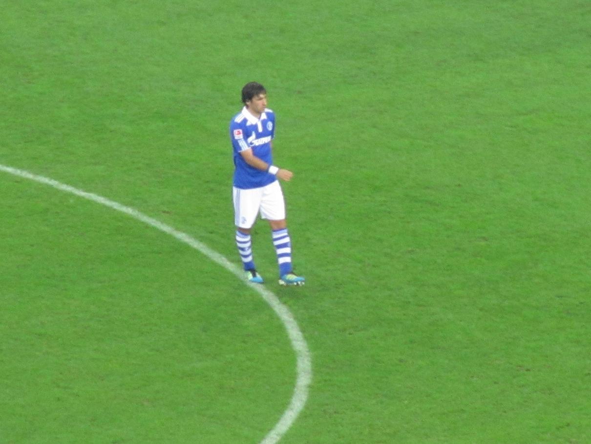 Raul auf Schalke
