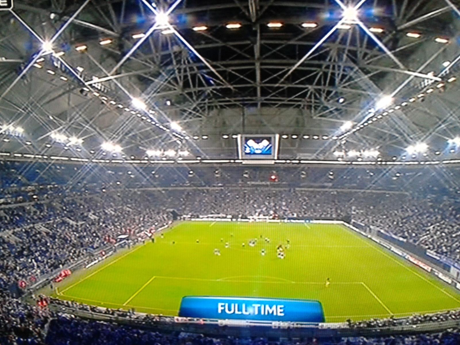 Champions-League-Abend in der Schalke-Arena