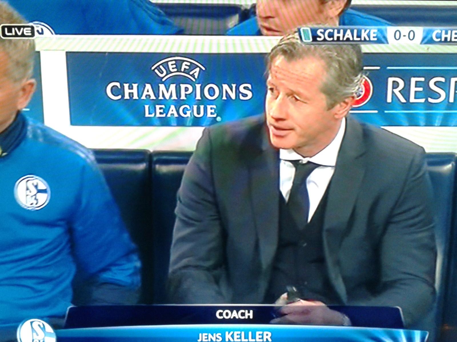 Schalke-Trainer Jens Keller