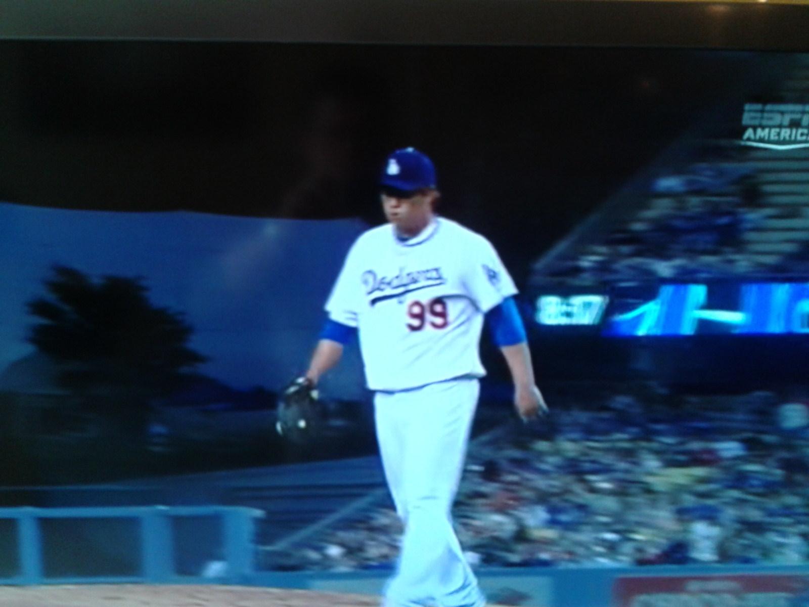 Pitcher Hyun-Jin Ryu von den Los Angeles Dodgers