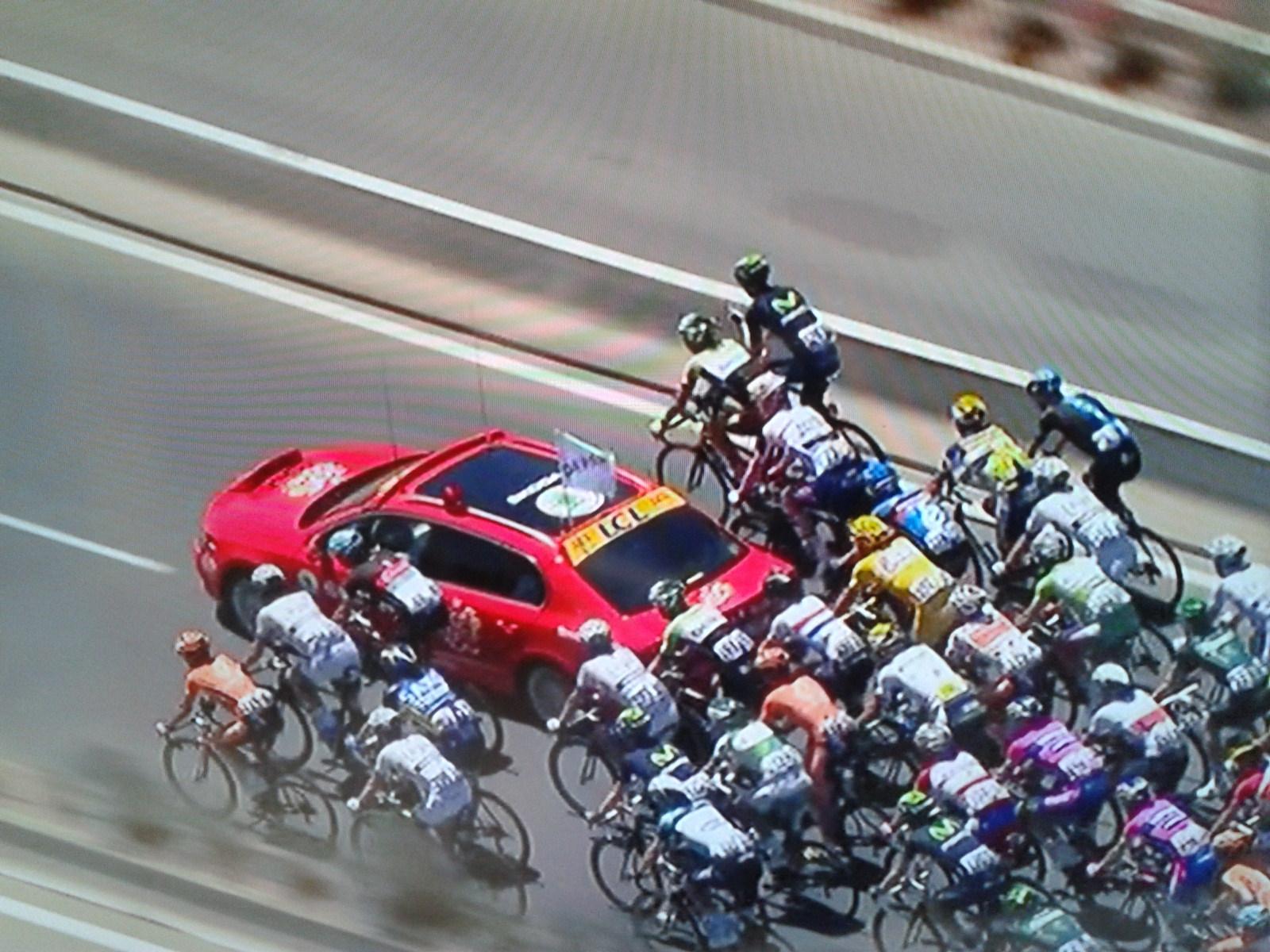 Peloton der Tour de France